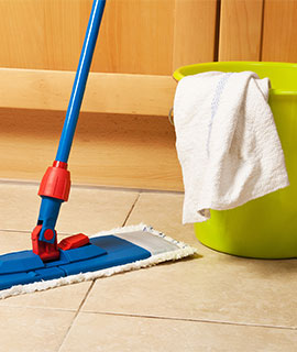 Mopping Floor - Dependable Maid Service Gaithersburg, MD